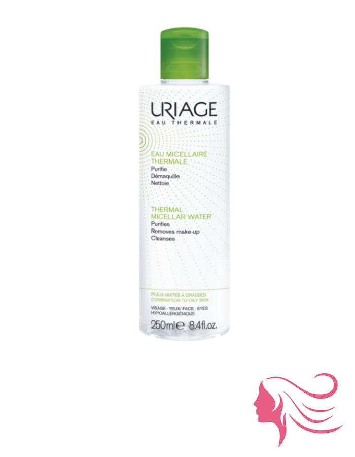 Uriage micellás arc- és sminklemosó zsíros és kombinált bőrre
