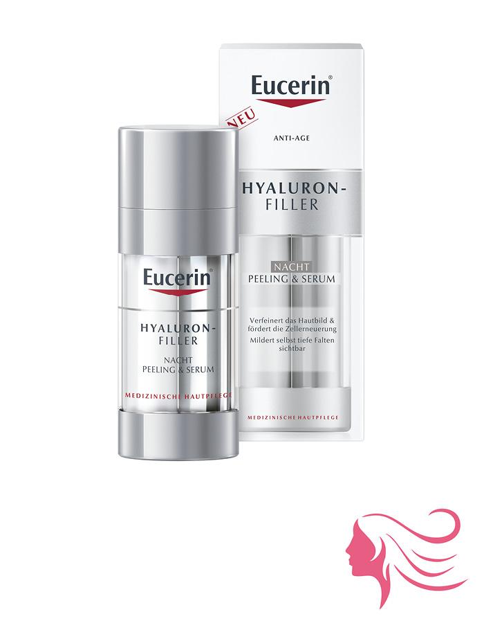 Eucerin Hyaluron-Filler éjszakai peeling és szérum